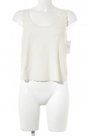 Topshop Cropped Top wollweiß Beach-Look
