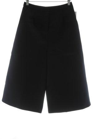 Topshop Pantalone culotte blu scuro stile casual