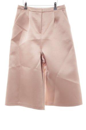 Topshop Culottes roségoldfarben Business-Look