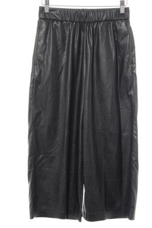 Topshop Pantalone culotte nero-antracite stile casual