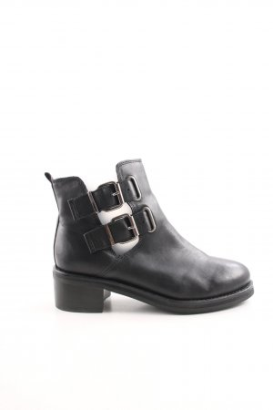Topshop Cut Out Booties black casual look