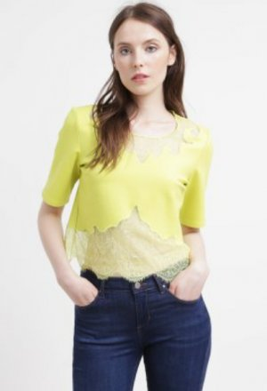 Topshop deluxe yellow