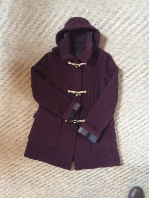 Topshop Duffel Coat purple