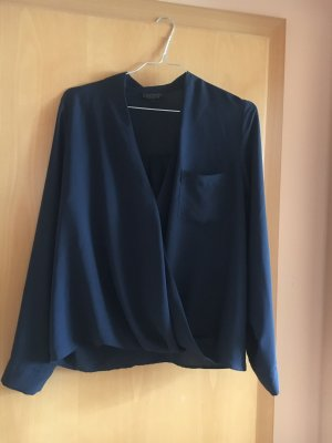Topshop - dunkelblaue Bluse