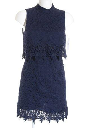 Topshop Vestido ceñido de tubo azul oscuro elegante