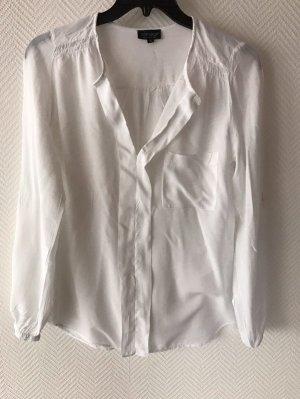 Topshop - Fließende Bluse mit V-Ausschnitt Gr. 34