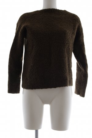 Topshop Grobstrickpullover khaki Casual-Look