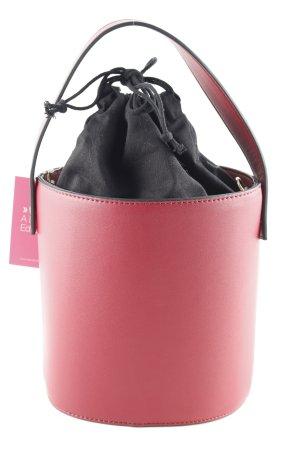 Topshop Handtasche dunkelrot-schwarz Casual-Look