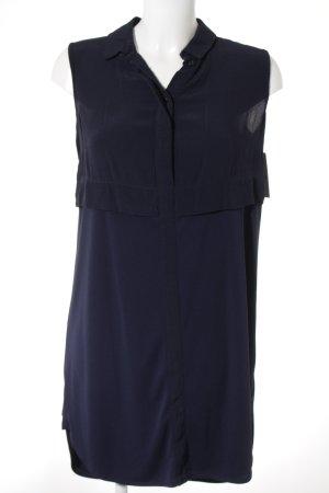 Topshop Shirtwaist dress dark blue casual look