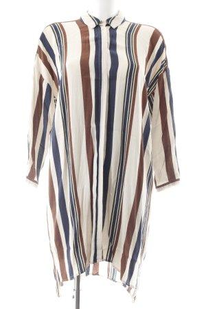 Topshop Robe chemise motif rayé style décontracté