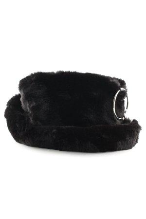 Topshop Borsa con manico nero stile da moda di strada