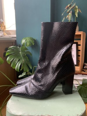 Topshop Henna Snake Boot
