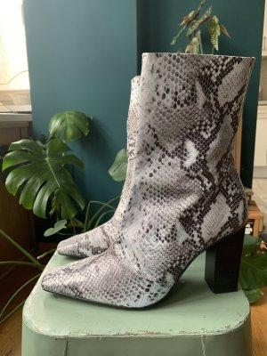 Topshop Henna Snake Boots