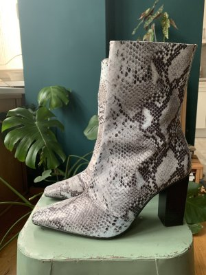 Topshop Henna Snake Boots