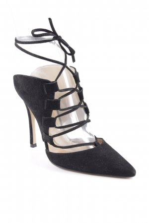 Topshop High Heel Sandaletten schwarz Elegant