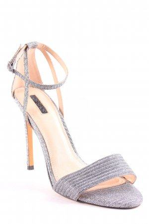 Topshop High Heel Sandal silver-colored elegant