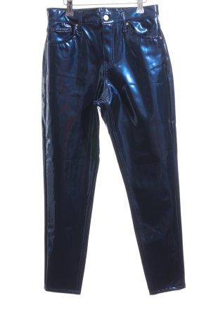 Topshop High-Waist Hose blau extravaganter Stil