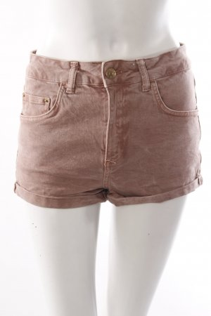 Topshop High Waist-Jeans altrosa