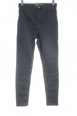 Topshop High Waist Jeans anthrazit Urban-Look
