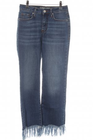 Topshop Hoge taille jeans blauw Boho uitstraling