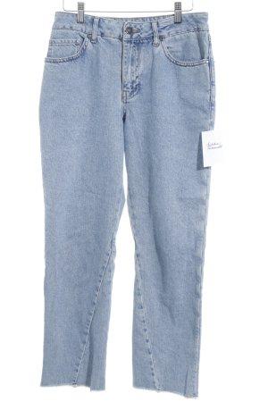 Topshop High Waist Jeans blau schlichter Stil
