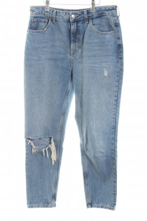 "Topshop Hoge taille jeans ""Mom Jeans"" lichtblauw"