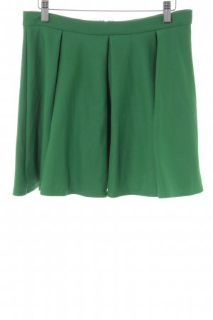 Topshop Rok met hoge taille groen casual uitstraling
