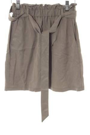 Topshop High Waist Rock khaki Casual-Look