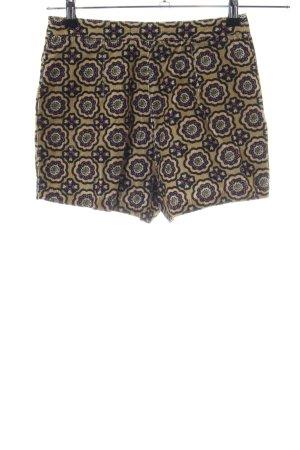 Topshop High-Waist-Shorts braun Allover-Druck Elegant