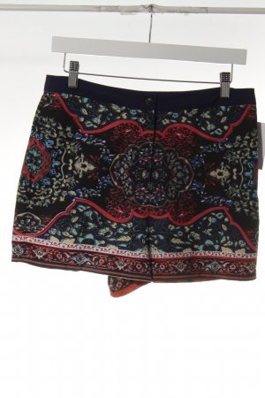 Topshop High-Waist-Shorts abstraktes Muster Romantik-Look