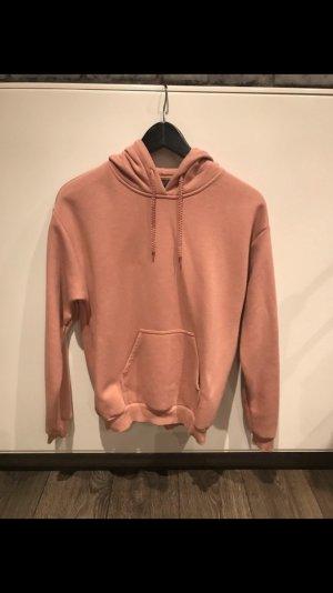 Topshop hoodie in altrosa