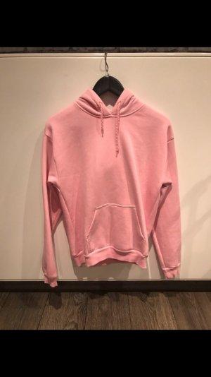 Topshop hoodie in pink