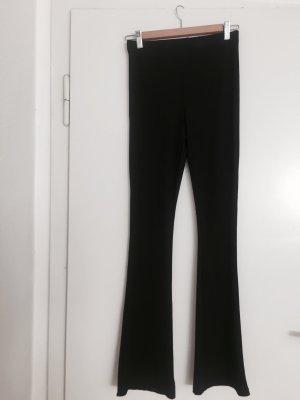 Topshop Flares black polyester