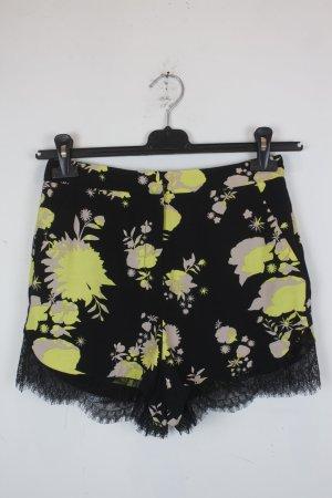 Topshop Hot Pants Gr. 36 gemustert floral (18/6/444)