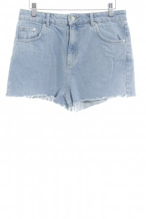 Topshop Hot Pants hellblau Casual-Look