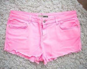 Topshop Hotpants Neon pink