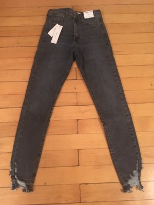 Topshop Jamie Jeans in graublau
