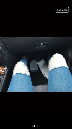Topshop Jeans bleu azur