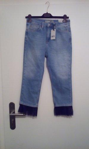 Topshop jeans mit Tüll neu petite 28l28