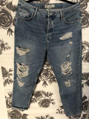 Topshop Jeans Moto Hayden Boyfriendjeans Used Distressed