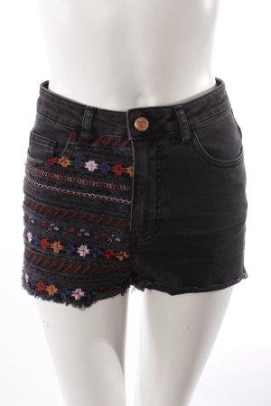 Topshop Jeans-Shorts schwarz