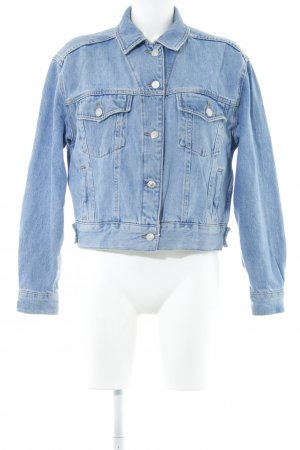 Topshop Veste en jean bleu style décontracté