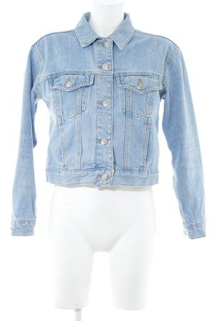 Topshop Jeansjacke himmelblau-blassblau Casual-Look