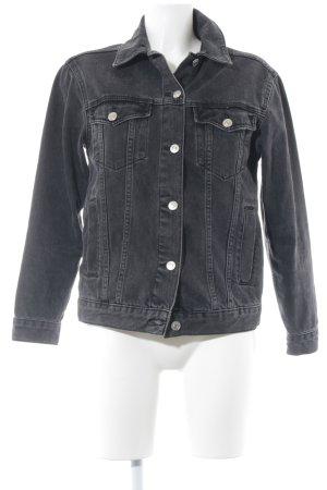 Topshop Denim Jacket black casual look