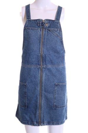 Topshop Denim Dress blue casual look