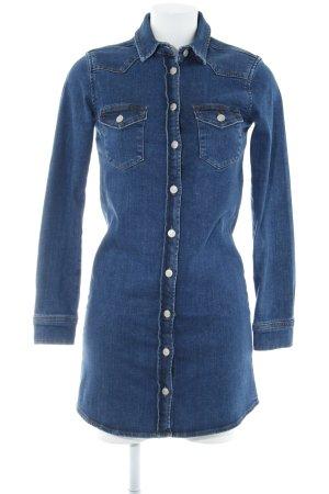 Topshop Jeanskleid blau Casual-Look