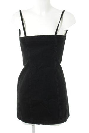 Topshop Denim Dress black party style