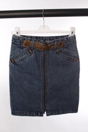 Topshop Jeansrock mit Reißverschluss