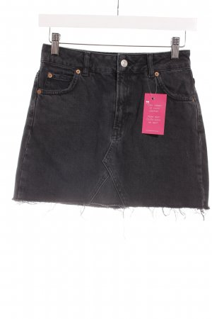 Topshop Denim Skirt taupe second hand look