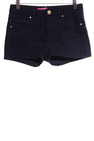 Topshop Pantaloncino di jeans blu stile casual